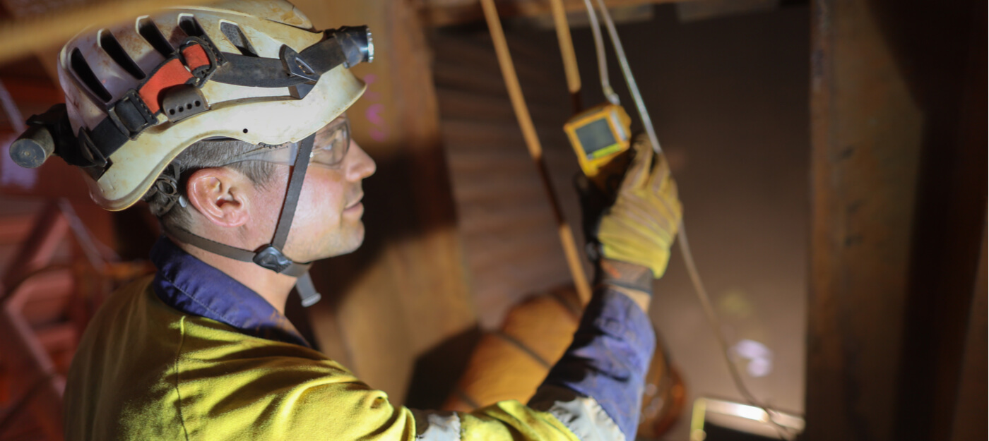 handheld gas detectors for improved mining safety