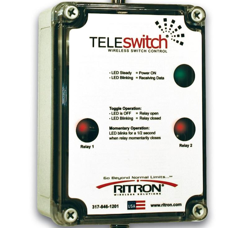 Ritron TeleSwitch Model TS-142-GW remote control radio switch